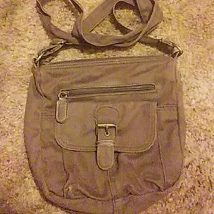 Brown womens purse